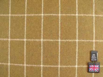 Country Tweed Windowpane Check Fabric AC94